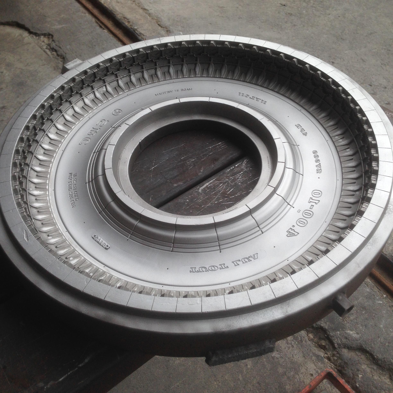 Ứng dụng hiệu quả công nghệ đánh bóng bề mặt của VulKan- Inox cho khuôn lốp ô tô