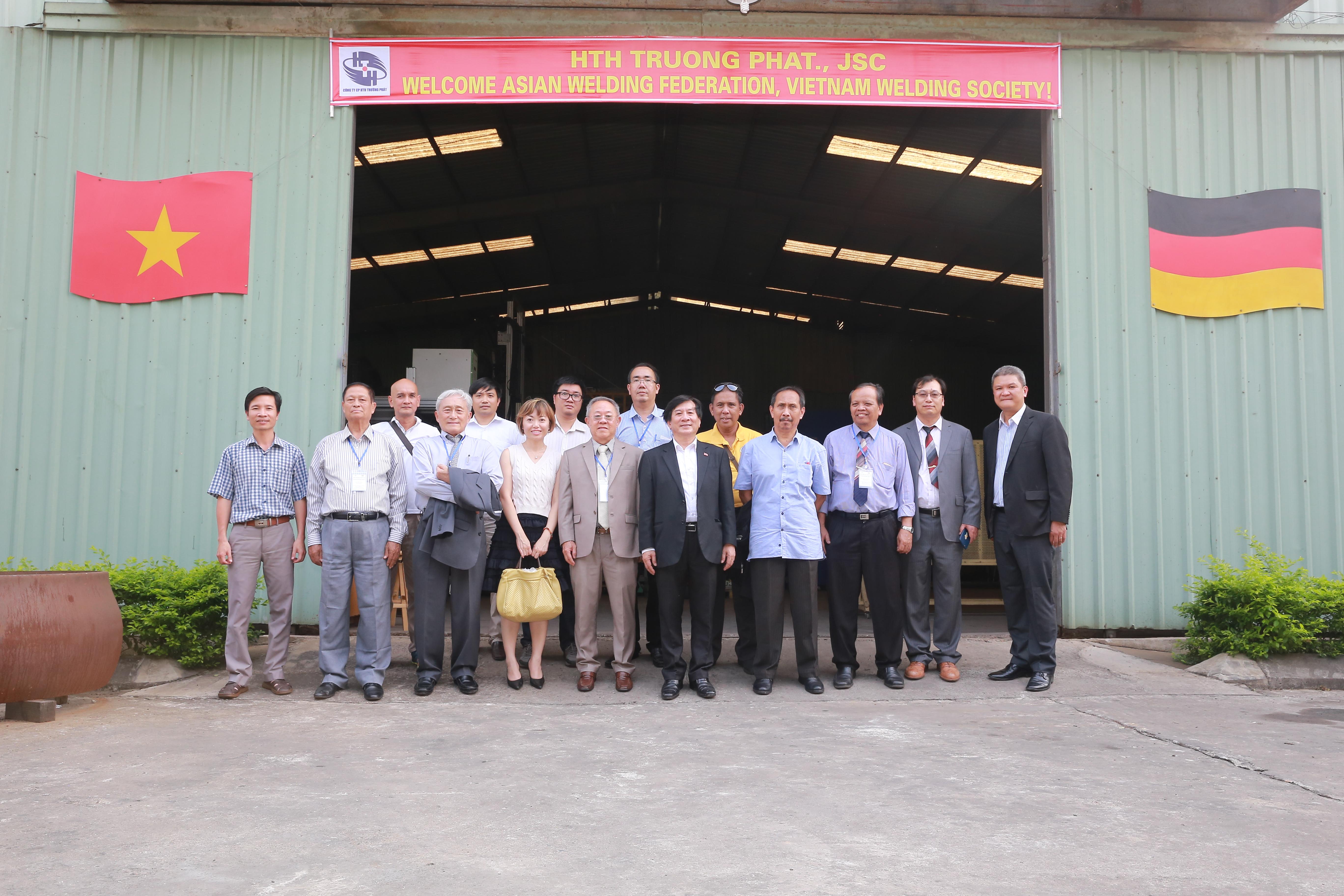 """Sự kiện: """"Chào đón Liên đoàn hàn Hàn Châu Á và Hiệp hội Khoa học kỹ thuật Hàn Việt Nam"""" tại Công ty CP HTH Trường Phát"""